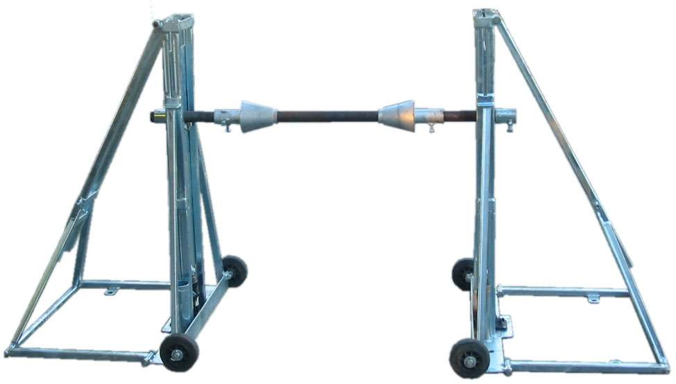 Cable Reel Stand 2t 20t Swl Jacks Winches