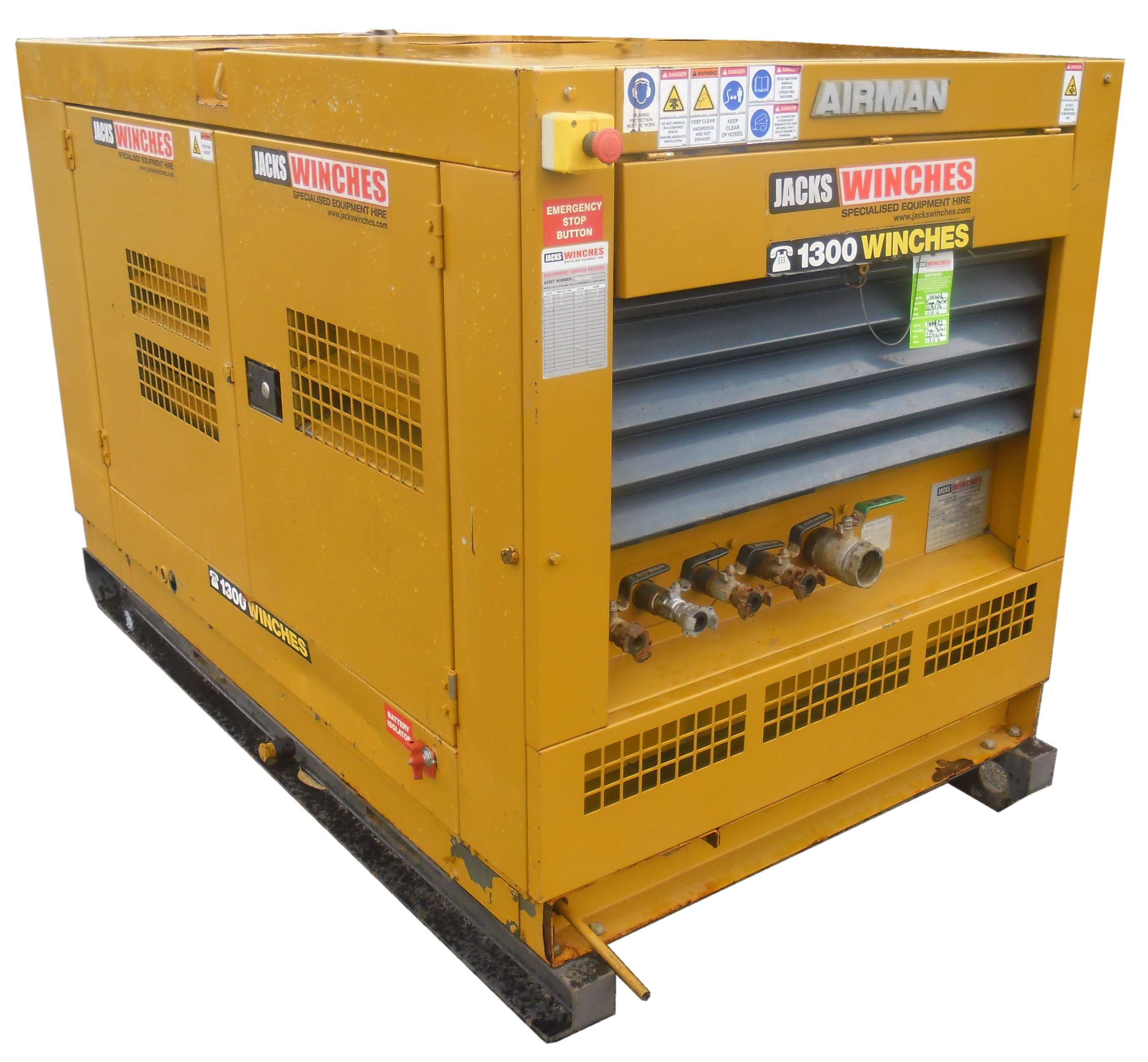 265CFM Air Compressor Airman PDS265S | Jacks Winches
