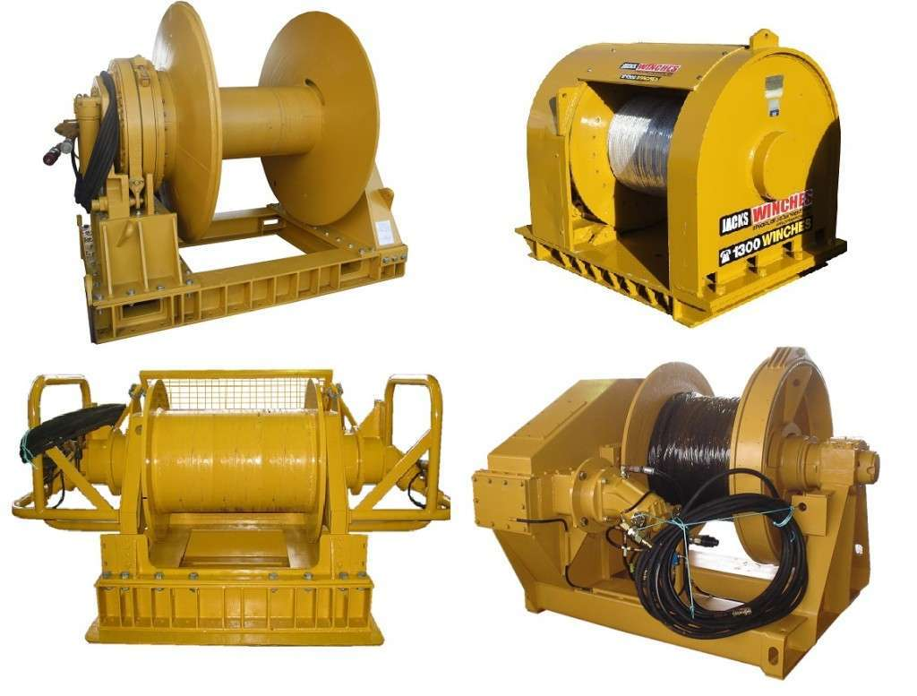Hydraulic Winches Archives Jacks Winches